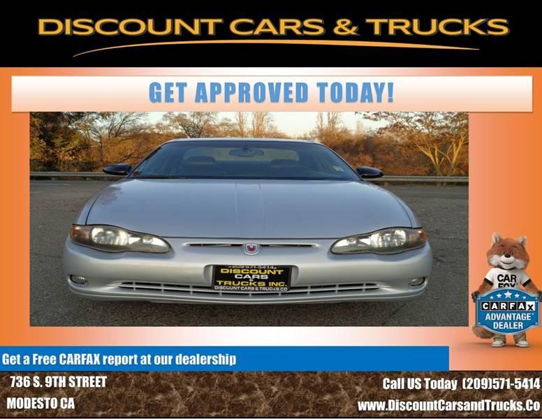 2001 Chevrolet Monte Carlo Ss In Modesto Ca Discount Cars Trucks