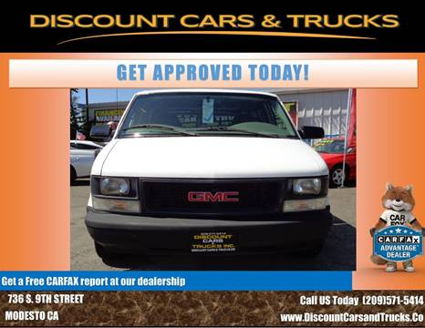 2003 GMC Safari Cargo for sale in Modesto, CA