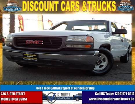 2002 GMC Sierra 1500 for sale in Modesto, CA