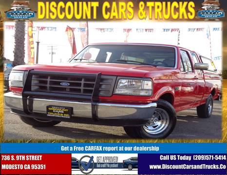 Ford Dealership Modesto >> 1995 Ford F 150 For Sale In Modesto Ca