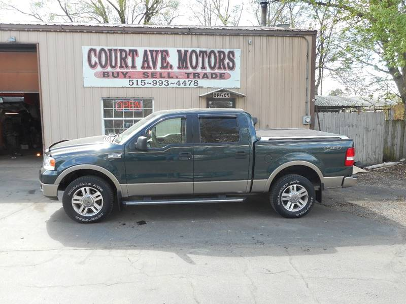 2005 Ford F-150 4dr SuperCrew XLT 4WD Styleside 5.5 ft. SB - Adel IA