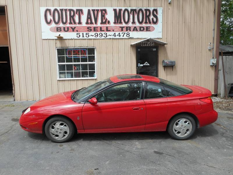 2002 Saturn S-Series SC2 3dr Coupe - Adel IA