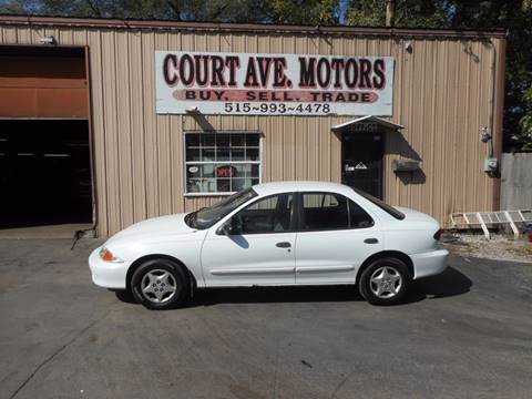 2001 Chevrolet Cavalier for sale in Adel, IA