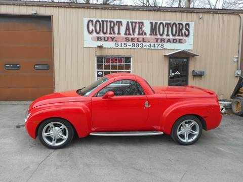 2005 Chevrolet SSR for sale at Court Avenue Motors in Adel IA
