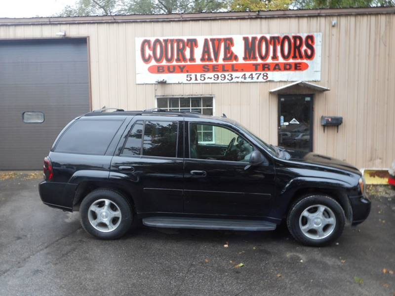 2006 Chevrolet Trailblazer Lt 4dr Suv 4wd In Adel Ia Court Avenue