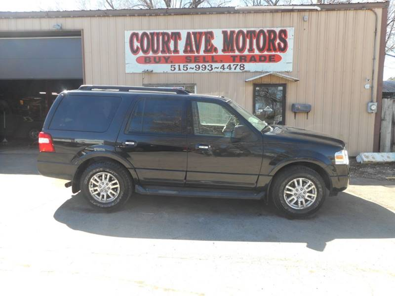 2012 Ford Expedition 4x4 XLT 4dr SUV In Adel IA - Court Avenue Motors