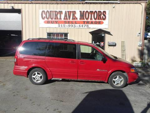 1999 Pontiac Montana for sale in Adel, IA