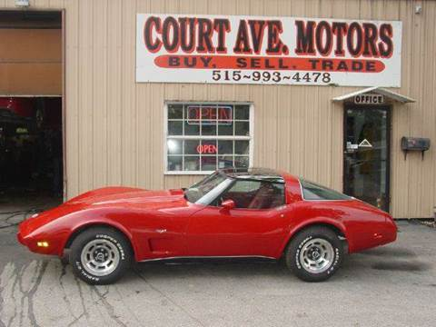 1978 Chevrolet Corvette for sale in Adel, IA