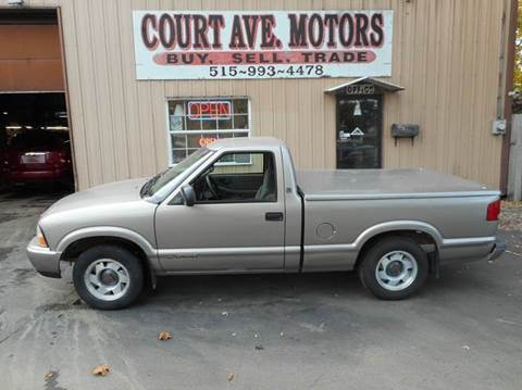 1999 GMC Sonoma for sale at Court Avenue Motors in Adel IA
