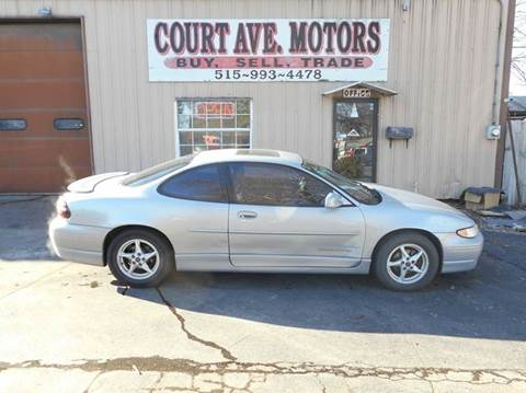 2000 Pontiac Grand Prix for sale in Adel, IA