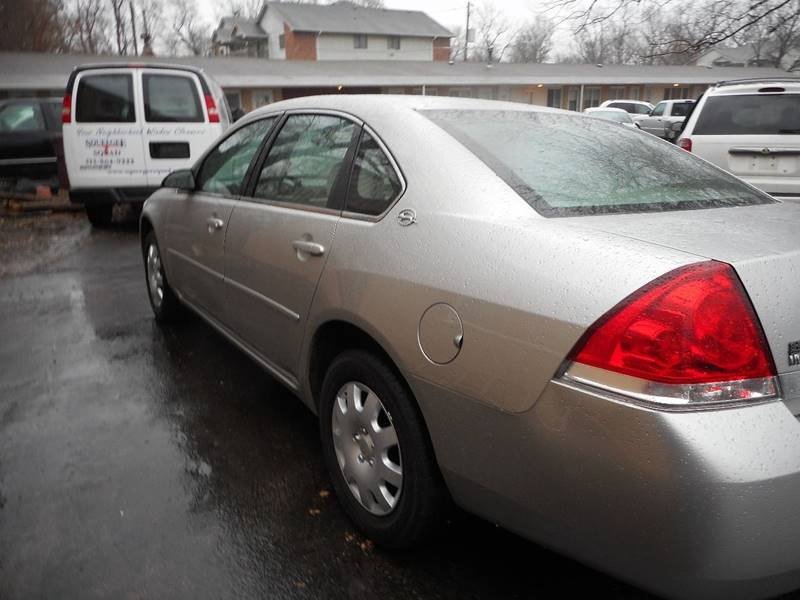2006 Chevrolet Impala LS 4dr Sedan w/ roof rail curtain delete - Adel IA