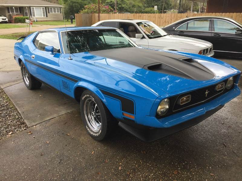 1972 Ford Mustang Mach 1 In Lafayette La South West Auto Sport