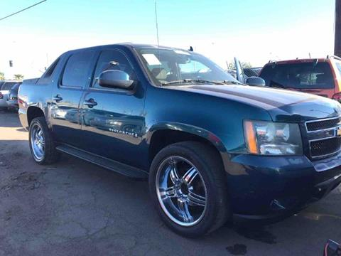 used 2007 chevrolet avalanche for sale in arizona. Black Bedroom Furniture Sets. Home Design Ideas