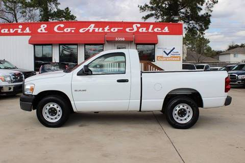 2008 Dodge Ram Pickup 1500 for sale in Spring, TX