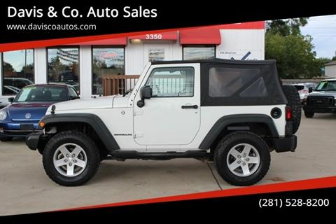 2010 Jeep Wrangler for sale in Spring, TX