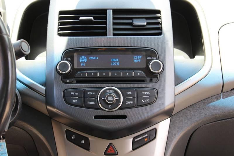 2012 Chevrolet Sonic LTZ 4dr Sedan w/2LZ - Spring TX