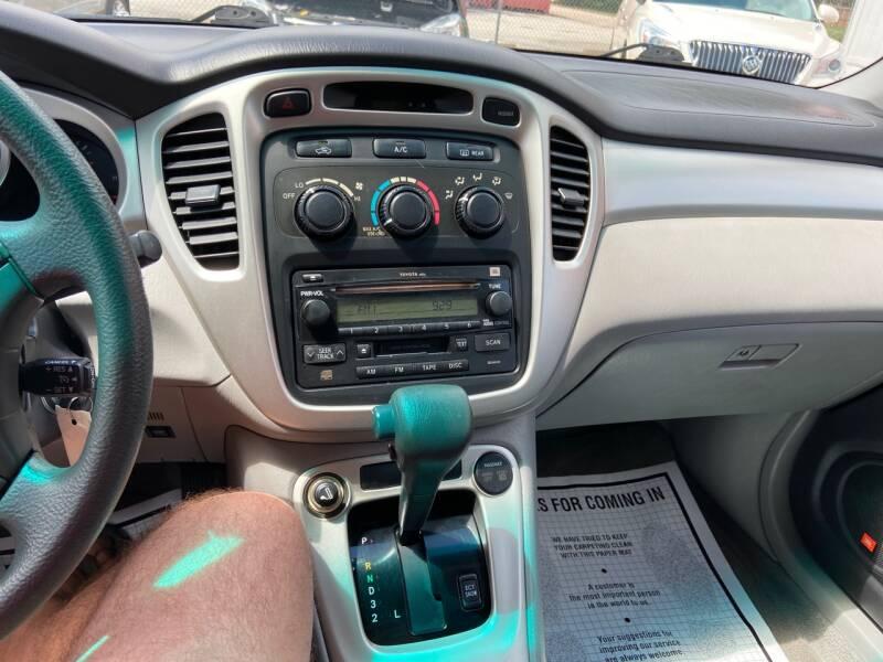 2005 Toyota Highlander Fwd 4dr SUV V6 - Spring TX