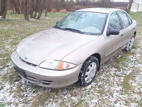 2002 Chevrolet Cavalier for sale at South Niagara Auto Used Cars & Service in Lockport NY