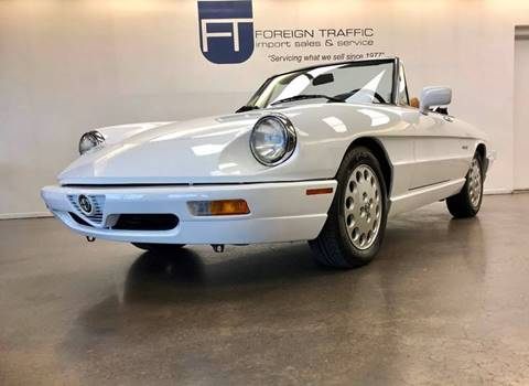 1992 Alfa Romeo Spider for sale in Allison Park, PA