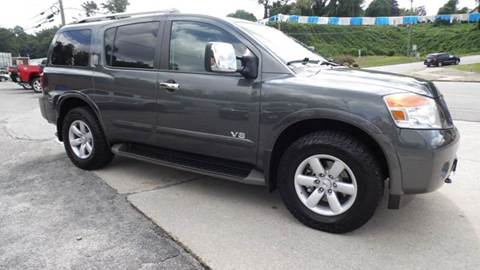 2011 Nissan Armada for sale at G AND J MOTORS in Elkin NC