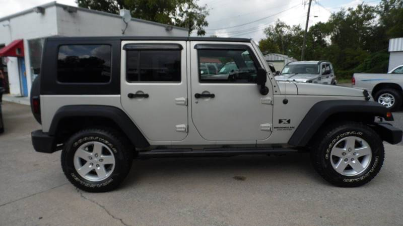 2007 Jeep Wrangler Unlimited For Sale At G AND J MOTORS In Jonesville NC