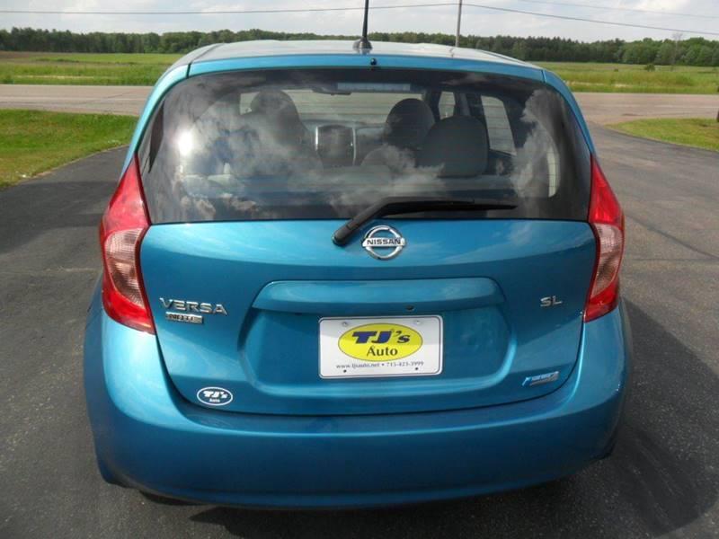 2015 Nissan Versa Note SL 4dr Hatchback (midyear release) - Wisconsin Rapids WI
