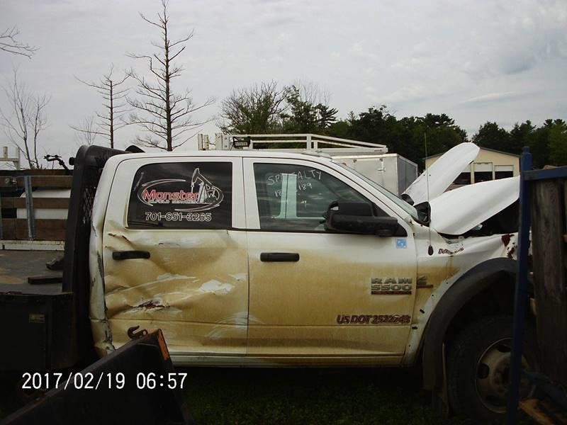 2014 Repairable Ram Ram 5500 - Wisconsin Rapids WI