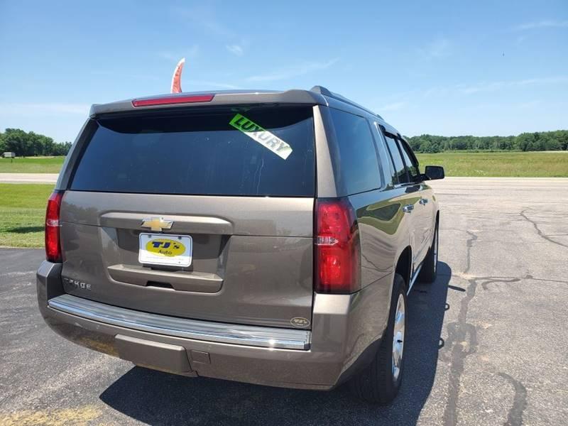 2016 Chevrolet Tahoe 4x4 LTZ 4dr SUV - Wisconsin Rapids WI