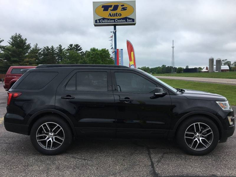 2016 Ford Explorer Awd Sport 4dr Suv In Wisconsin Rapids