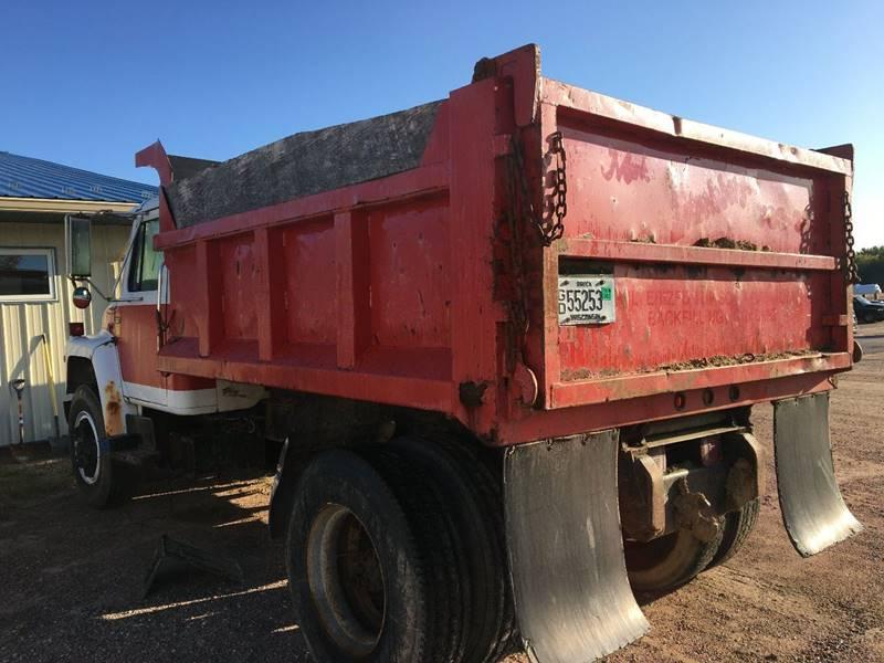 1982 International S1900 Dump Truck - Wisconsin Rapids WI