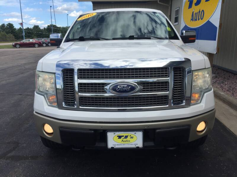 2010 Ford F-150 4x4 King Ranch 4dr SuperCrew Styleside 5.5 ft. SB - Wisconsin Rapids WI