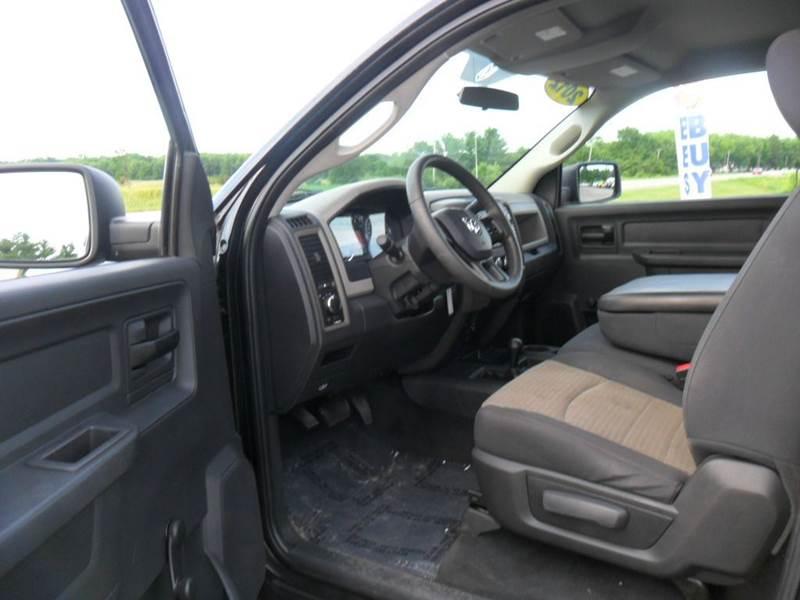 2012 RAM Ram Pickup 2500 ST 4x4 2dr Regular Cab 8 ft. LB Pickup - Wisconsin Rapids WI