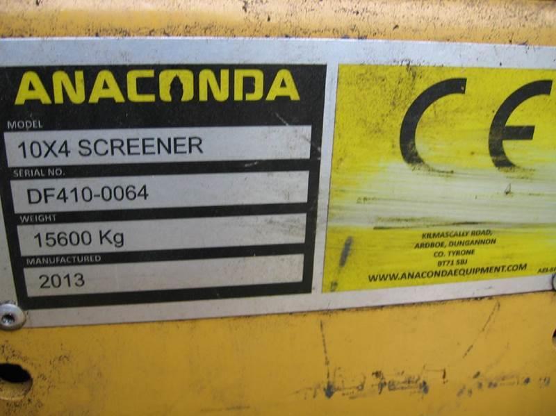 2013 Anaconda DF410 Scalper/Screener - Wisconsin Rapids WI