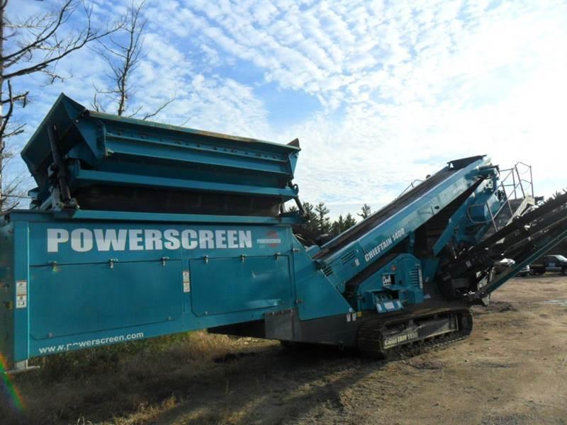 2015 Powerscreen Cheiftain 1400 - Wisconsin Rapids WI