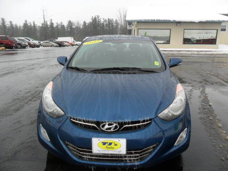 2013 Hyundai Elantra Limited 4dr Sedan - Wisconsin Rapids WI