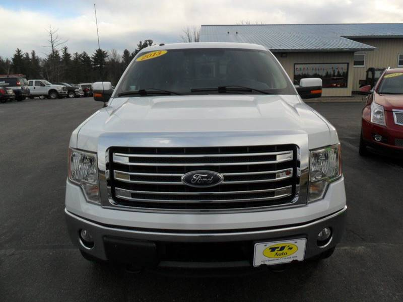 2013 Ford F-150 4x4 Lariat 4dr SuperCrew Styleside 5.5 ft. SB - Wisconsin Rapids WI