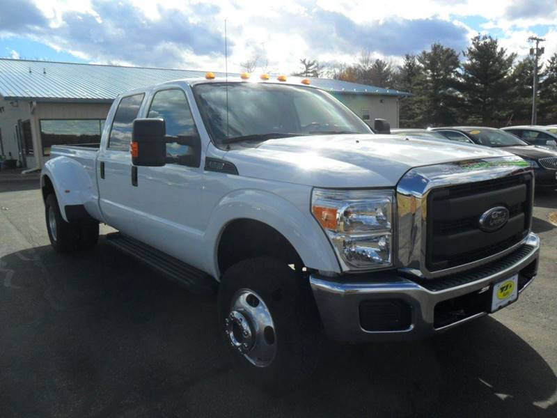 2016 Ford F-350 Super Duty 4x4 XL 4dr Crew Cab 8 ft. LB DRW Pickup - Wisconsin Rapids WI