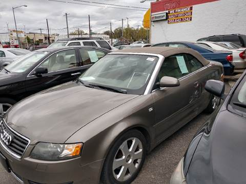 2006 Audi A4 for sale at Jimmys Auto INC in Washington DC