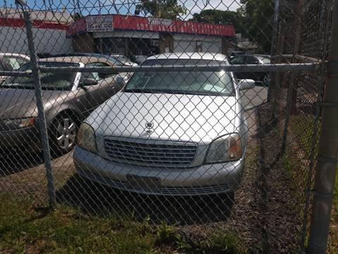 2002 Cadillac DeVille for sale at Jimmys Auto INC in Washington DC