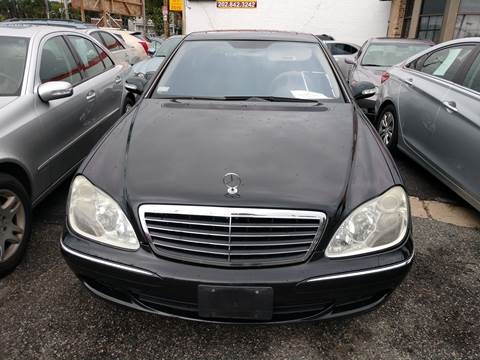 2005 Mercedes-Benz S-Class for sale at Jimmys Auto INC in Washington DC