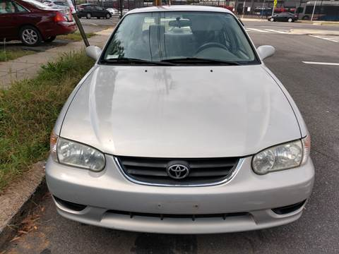 2001 Toyota Corolla for sale at Jimmys Auto INC in Washington DC
