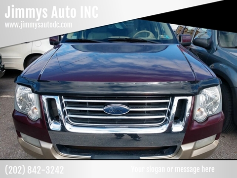 2007 Ford Explorer for sale at Jimmys Auto INC in Washington DC