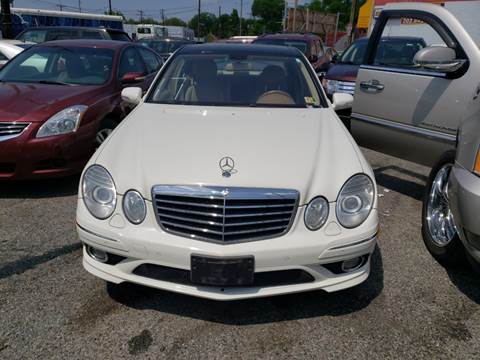 2008 Mercedes-Benz E-Class for sale at Jimmys Auto INC in Washington DC