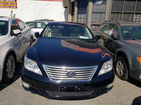 2011 Lexus LS 460 for sale at Jimmys Auto INC in Washington DC