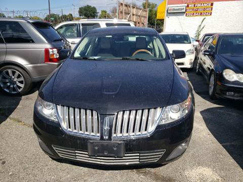 2011 Lincoln MKS for sale at Jimmys Auto INC in Washington DC