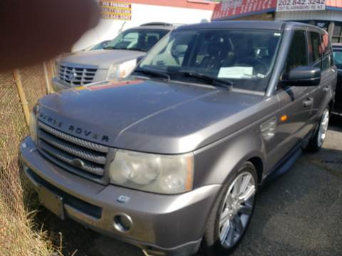 2008 Land Rover Range Rover Sport for sale at Jimmys Auto INC in Washington DC