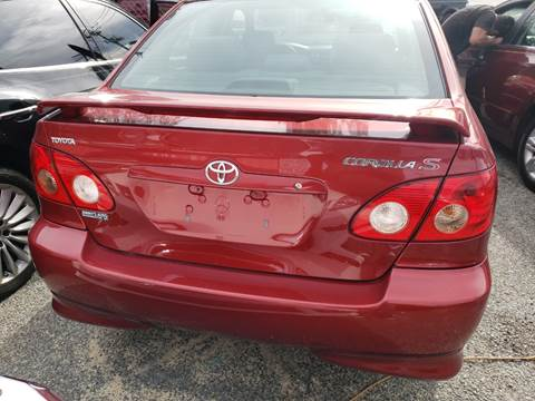 2005 Toyota Corolla for sale at Jimmys Auto INC in Washington DC