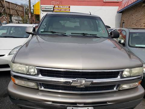2002 Chevrolet Suburban for sale at Jimmys Auto INC in Washington DC
