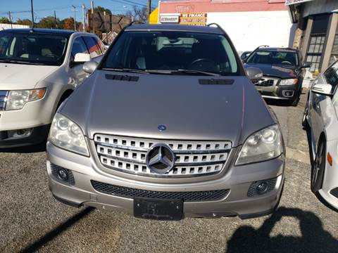 2006 Mercedes-Benz M-Class for sale at Jimmys Auto INC in Washington DC