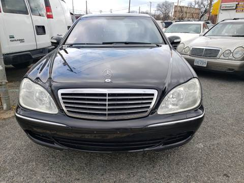 2003 Mercedes-Benz S-Class for sale at Jimmys Auto INC in Washington DC